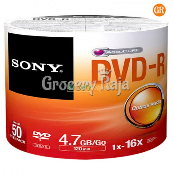 sony dvd pack of 50 800