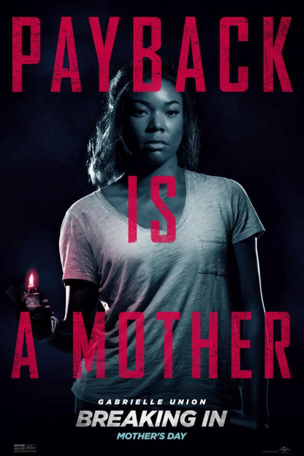 Breaking In 2018 movie poster