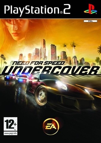 ps2 need for speed undercover used