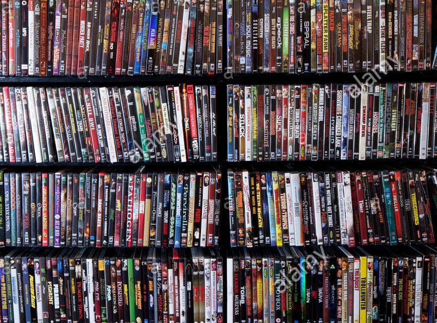 DVD Movies Blu-Ray VHS