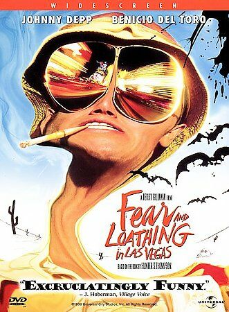 dfear and loathing in las vegas DVD Movie