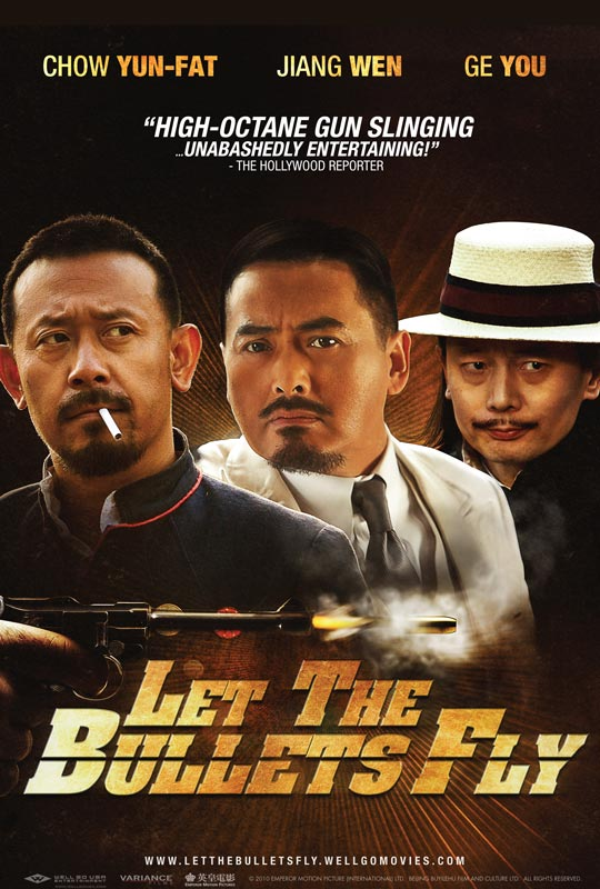Let The Bullets Fly US poster
