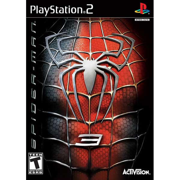 spiderman 3 ps2 game