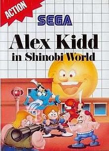 ALEX KIDD SEGA