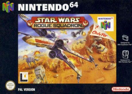 STAR WARS rogue squadron N64