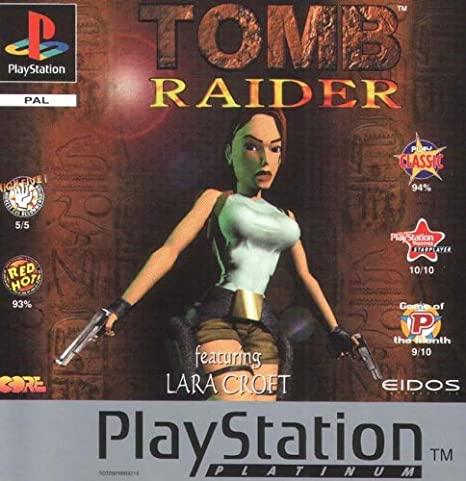 tomb raider playstation1