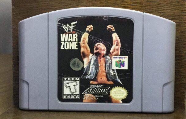 WWF WARZONE N64