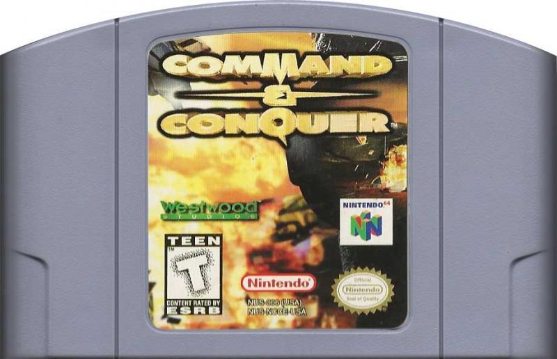 command n conquer n64
