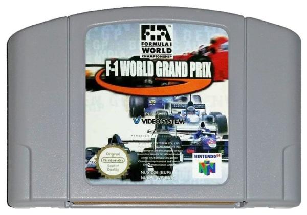 f1 world n64