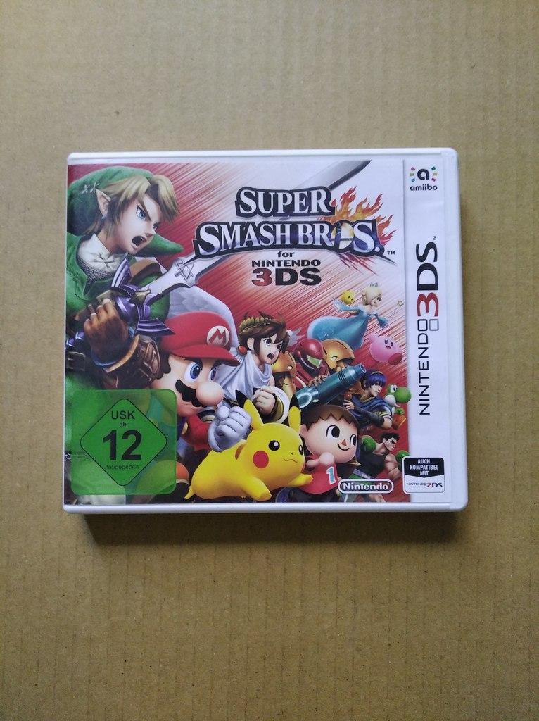 Super Smash Bros (Nintendo 3DS , Used)